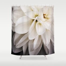 Judi Dench Dahlia Shower Curtain