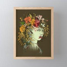 Persephone, goddess of Spring Framed Mini Art Print