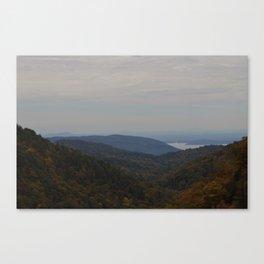 Over The Treeline  Canvas Print