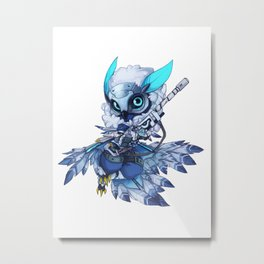 snow down Ana Metal Print