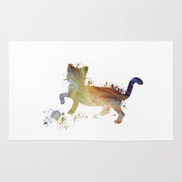 Cat art Rug