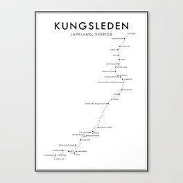 Kungsleden // The King's Trail Canvas Print