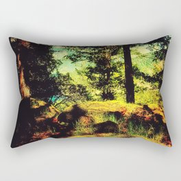 Magic Place, Stoney Hill, Vancouver Island Rectangular Pillow
