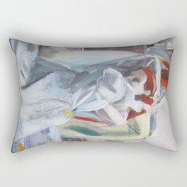 Green Bride Rectangular Pillow