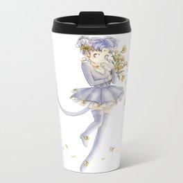 Diana´s human form Sailormoon fanart Metal Travel Mug