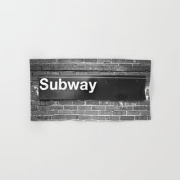 Subway Hand & Bath Towel