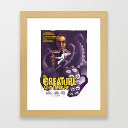 The Creature Who Loved Me Framed Art Print