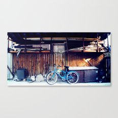 blue bike series 3.0 Canvas Print