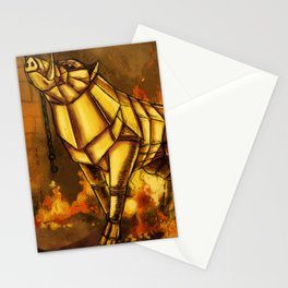 The Golden Boar Stationery Cards