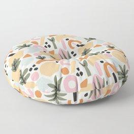 Malibu Sunrise Floor Pillow