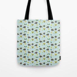 Kiwis and Flowers Tote Bag
