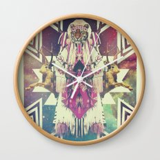 Tiger Chaman  Wall Clock