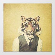 Humanimal: Tiger Canvas Print