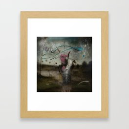 successful hunt Framed Art Print