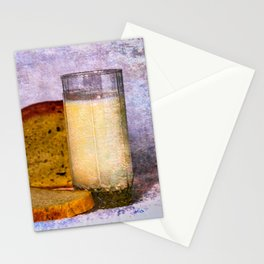 Milk And Bread Stationery Cards