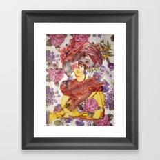 MADAME DEVAUCAY Framed Art Print