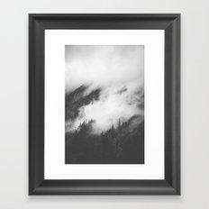 PNW Storm II Framed Art Print