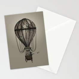 The Great Traveller Sending Paperplanes Stationery Cards