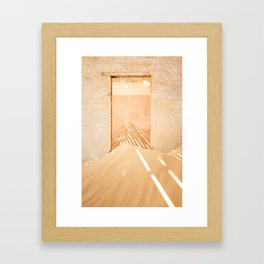 Kolmanskop Interior Framed Art Print
