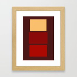 Iconic Painters: Mark Rothko Framed Art Print