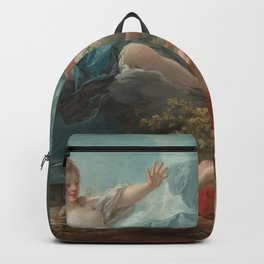 Diana and Endymion Oil Painting by Jean-Honoré Fragonard Backpack