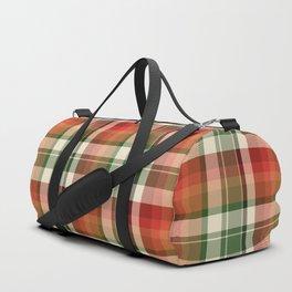Holiday Plaid 18 Duffle Bag