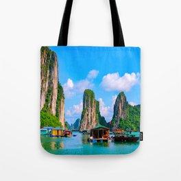 Tall Mountains Tote Bag