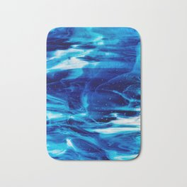 Blue Wave Bath Mat