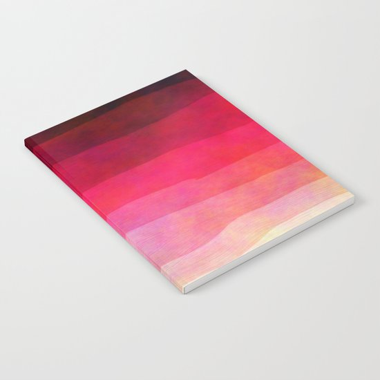 Abstract Stripes Notebook