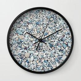 Beach Rocks Wall Clock