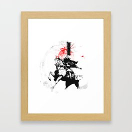 Samurai Japan Framed Art Print