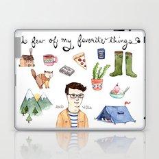 Favorite Things Laptop & iPad Skin