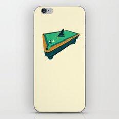 Pool shark iPhone Skin