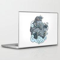 yeti Laptop & iPad Skins featuring Yeti by David Comito