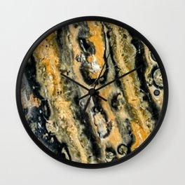 Leopard Jasper Wall Clock