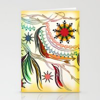 bohemian Stationery Cards featuring Bohemian  by famenxt