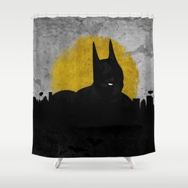 Night of Justice Shower Curtain
