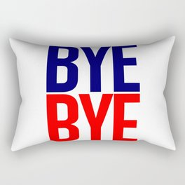 byebye Rectangular Pillow
