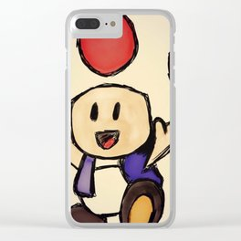 Toad Clear iPhone Case