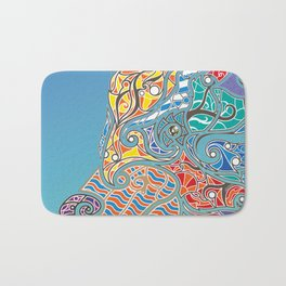 Bright Bear Bath Mat