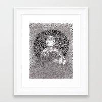 ninja turtle Framed Art Prints featuring Ninja Turtle by OKAINA IMAGE