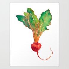 red beet Art Print