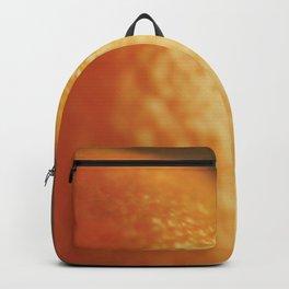 Orange peel, macro photography, fine art print, texture, for bar, home decor or interior desig Backpack