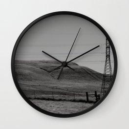 Plains Wall Clock