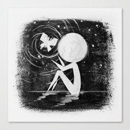 Stickmens Series - Light Canvas Print