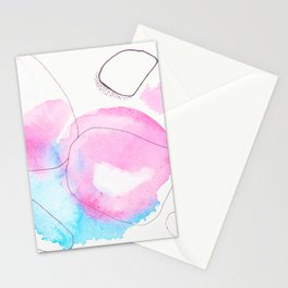 Sunset Cloudy Day Stationery Cards
