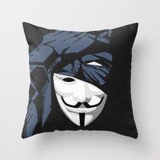 V For Bat (B Edition) Throw Pillow