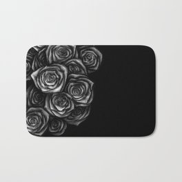 Roses Illustration Bath Mat