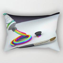 The Creative Desire by THE-LEMON-WATCH Rectangular Pillow