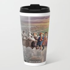Feminism At Work Metal Travel Mug
